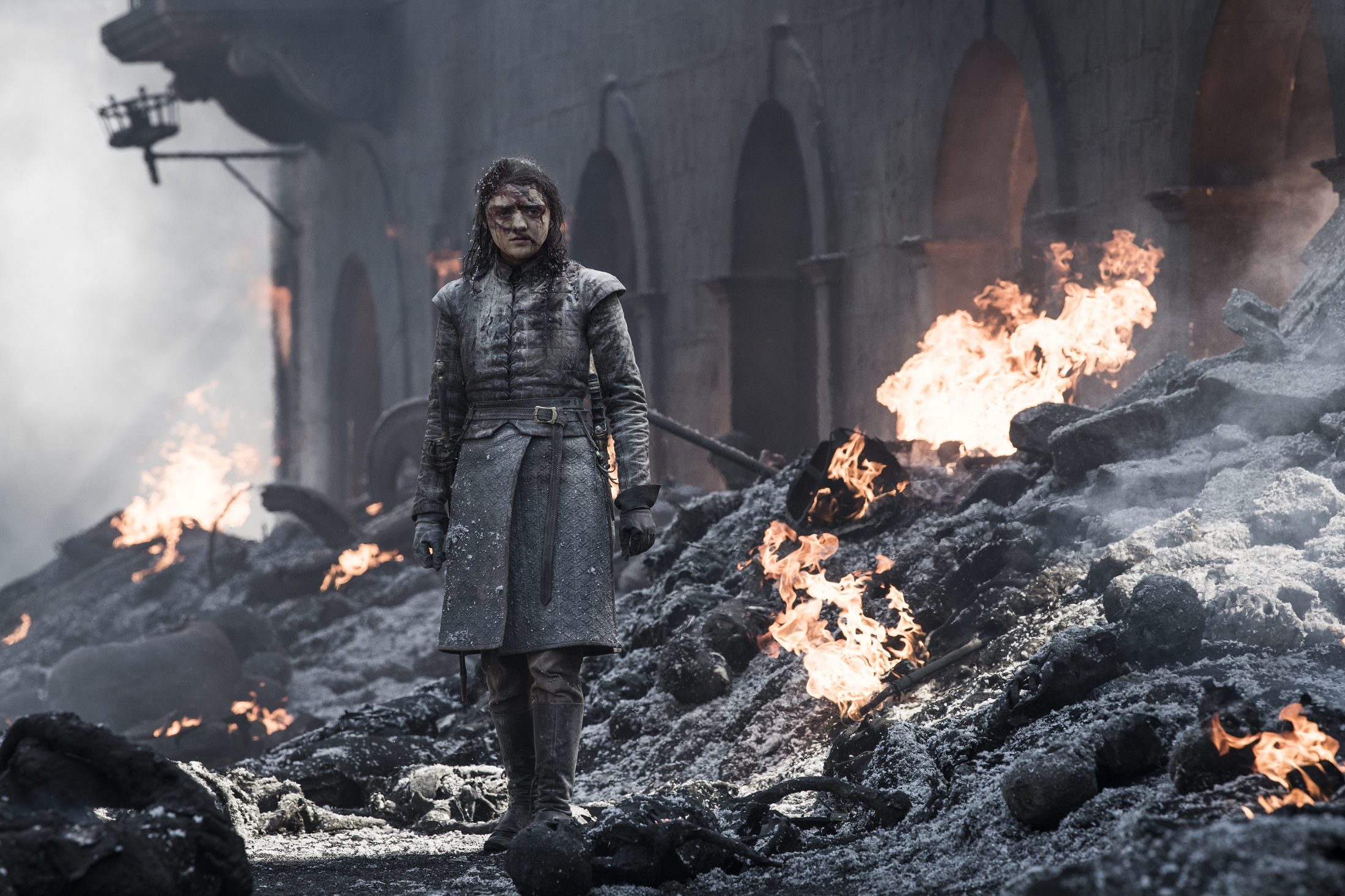 Arya Stark bleeding The Bells