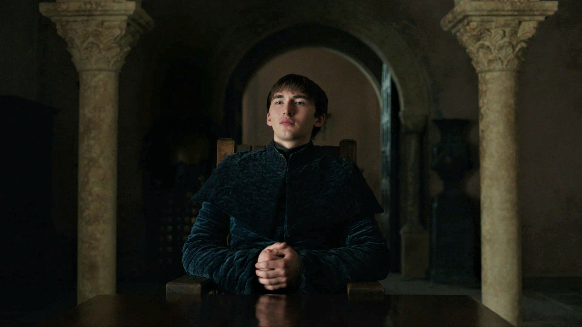 Bran Stark King Red Keep King's Landing Season 8 806 Iron Throne