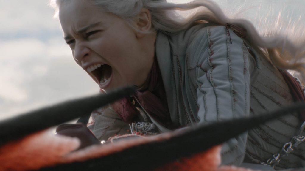 Daenerys Targaryen Drogon Season 8 804