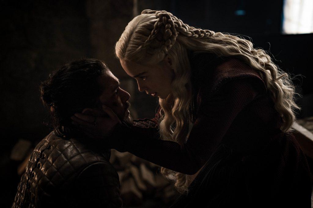 Daenerys Targaryen Jon Snow Season 8 804