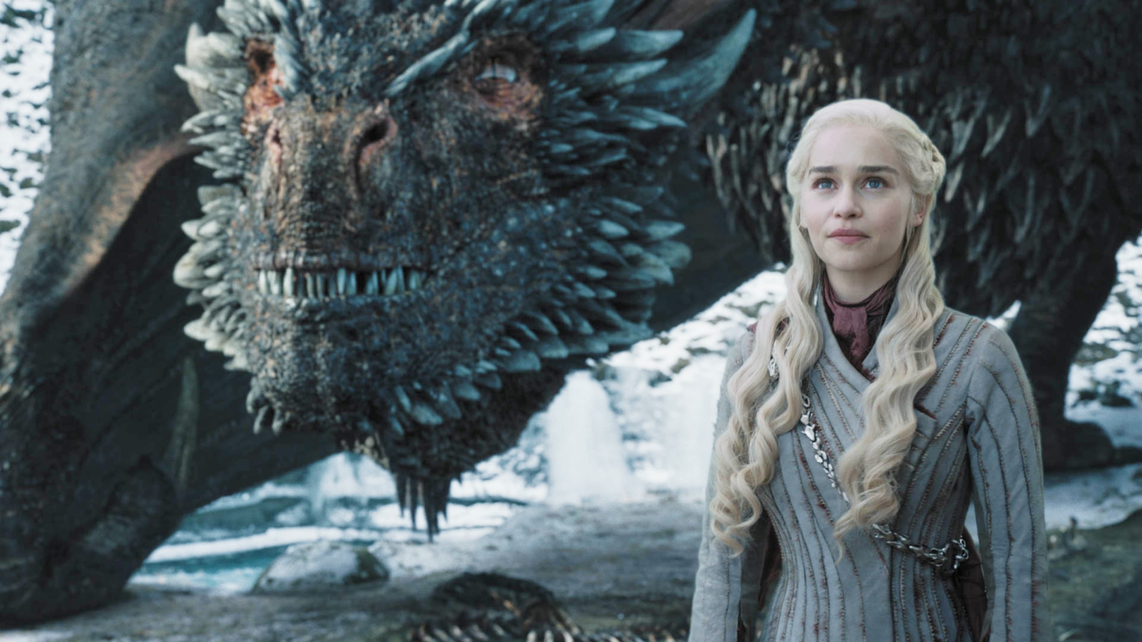 Drogon looks healthy and Dany is happy. Good news, for once? Photo courtesy of HBO.