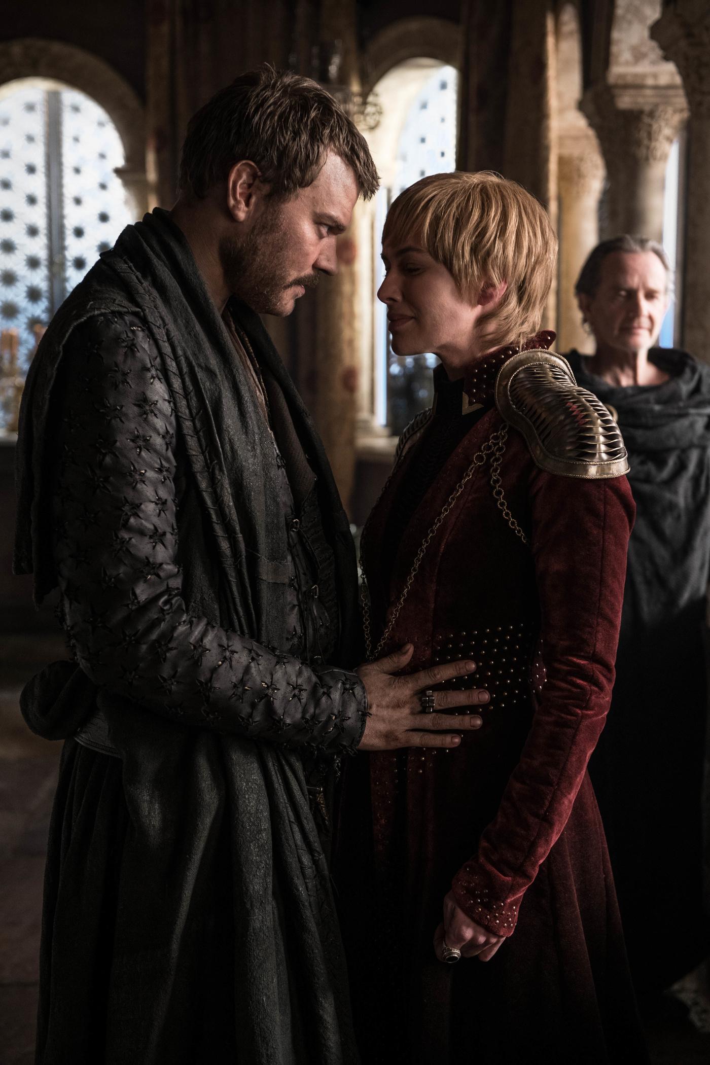 Euron Greyjoy Cersei Lannister Qyburn Season 8 804