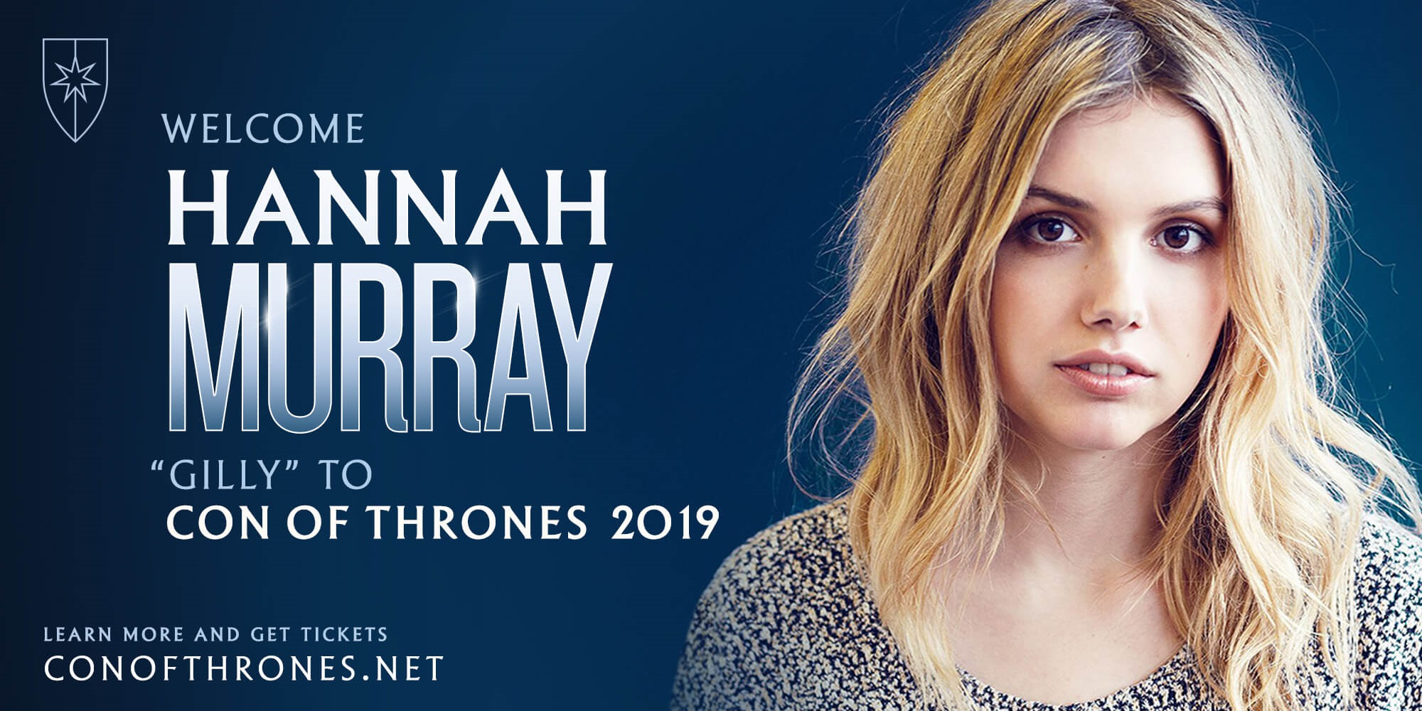 Hannah Murray Con of Thrones 2019