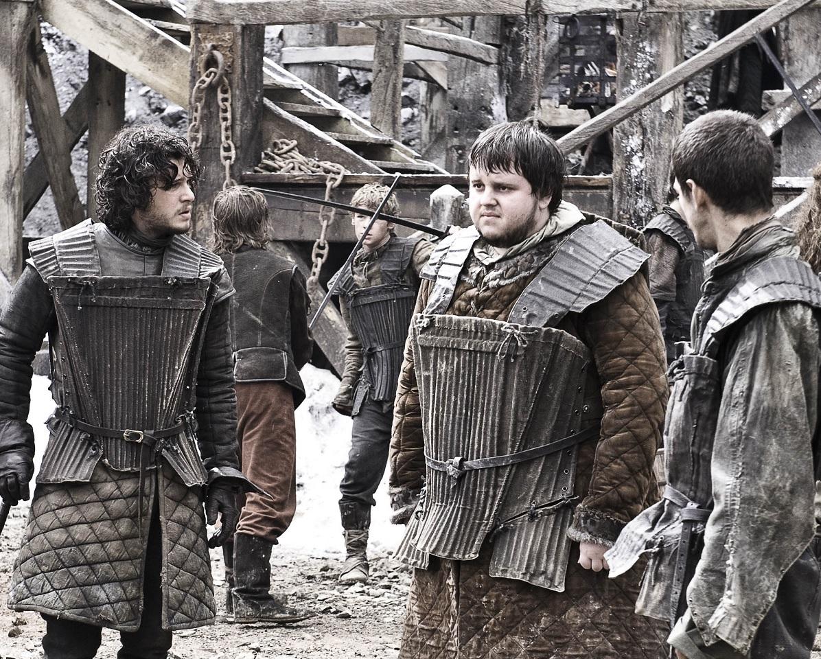 Jon Snow Samwell Tarly Pyp Cripples Bastards Broken Things