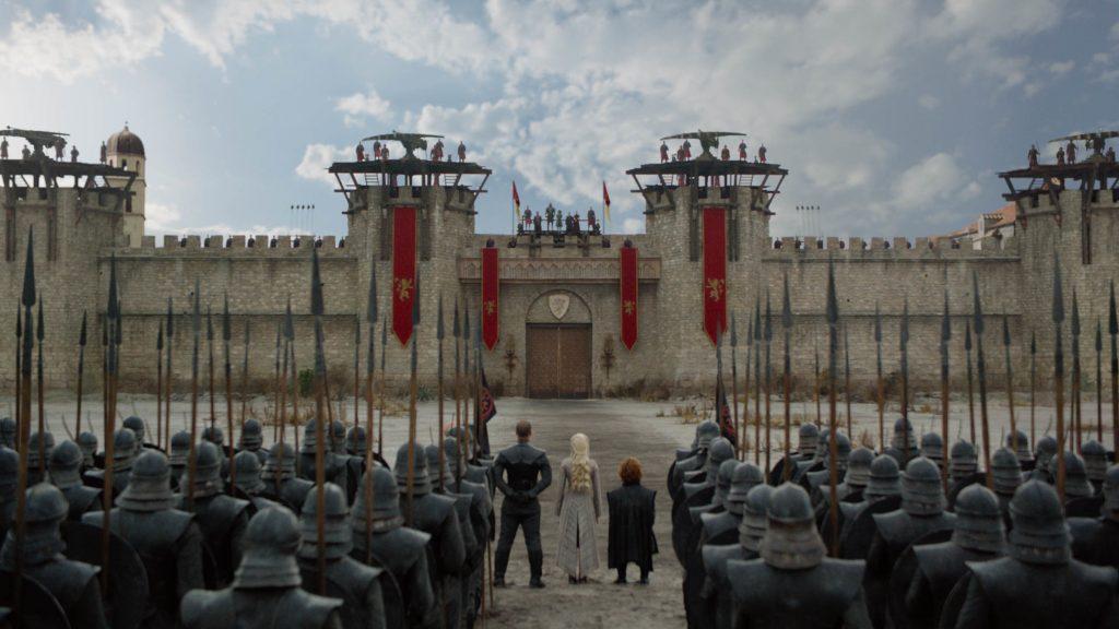 King's Landing Grey Worm Daenerys Targaryen Tyrion Lannister Cersei Missandei Season 8 804