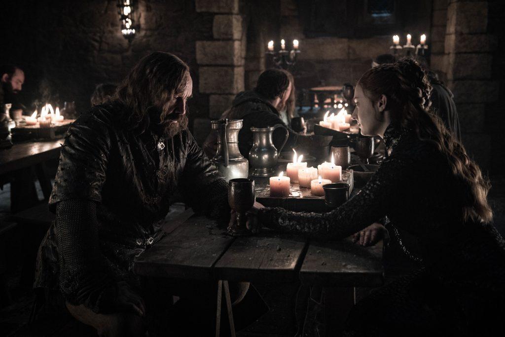 Sandor Hound Clegane Sansa Stark Season 8 804