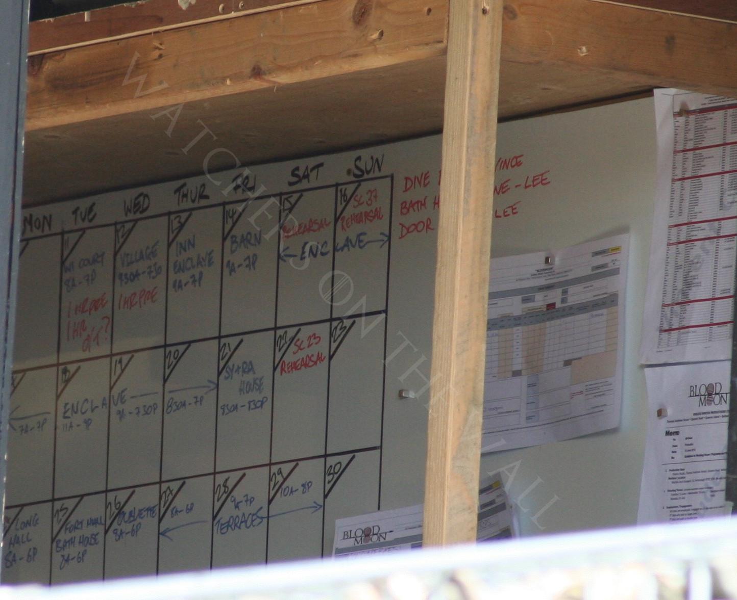 board schedule