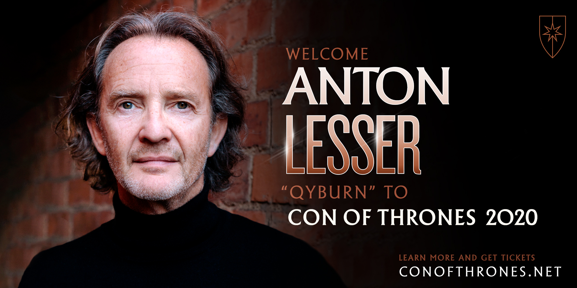 Con of Thrones COT 2020 Anton Lesser Special Guest Qyburn
