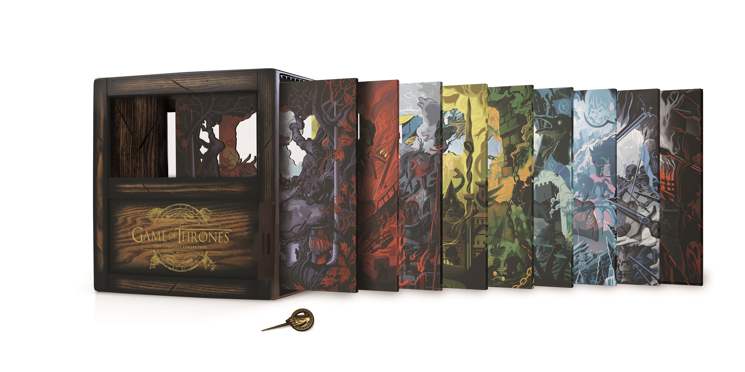 Watchers reviews Game of Thrones: The Complete Collection Collector's Set on Blu-ray!