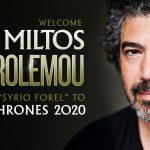CoT 2020 - Miltos Announcement