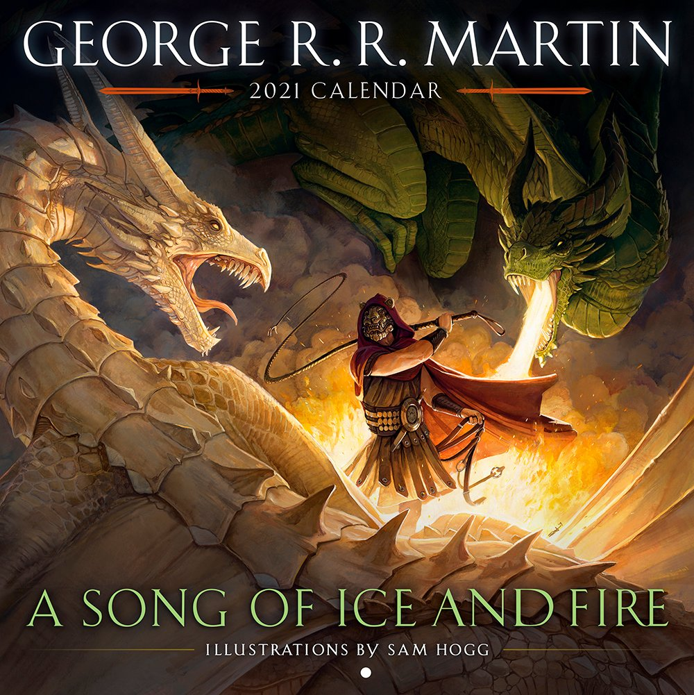 The Winners of the A Song of Ice and Fire 2021 calendar giveaway!