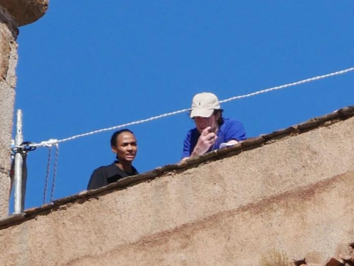 Matt Smith mans the walls of Castillo de La Calahorra — Photo courtesy of Los Siete Reinos