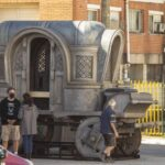 Alicent Hightower's previously seen carriage in Cáceres, Spain