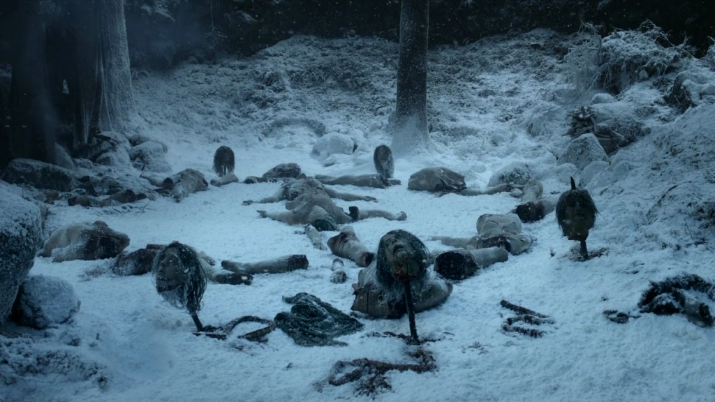 "White Walkers in ""Winter Is Coming"""