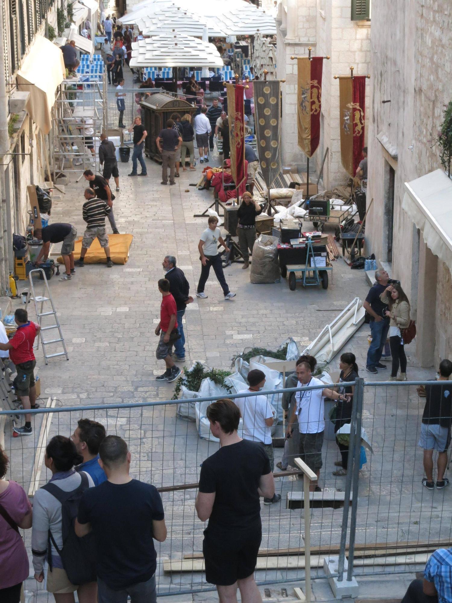 Girls in Dubrovnik