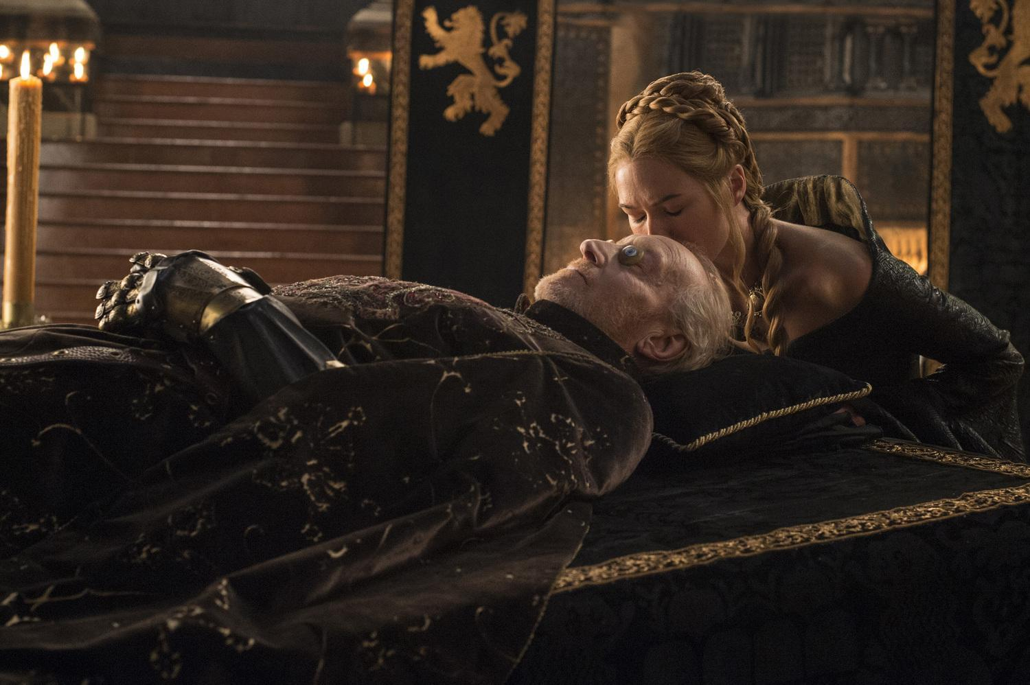 Cersei and dad