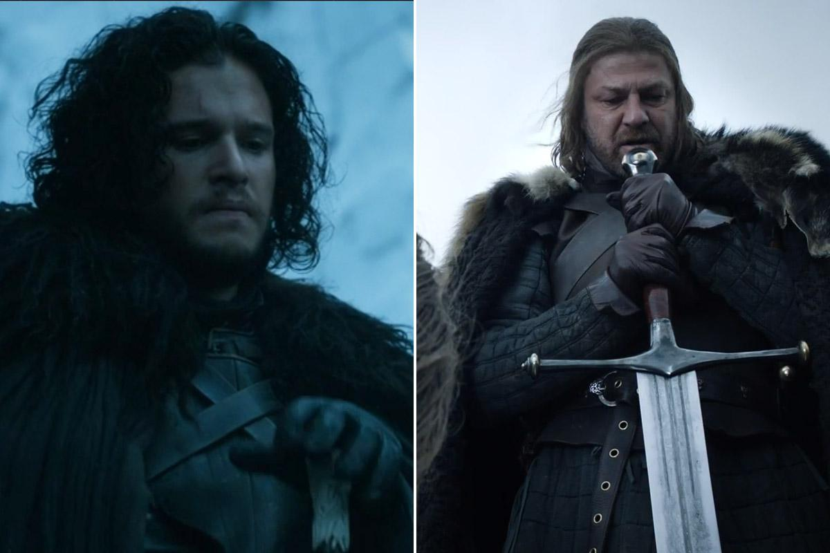 Jon and Ned