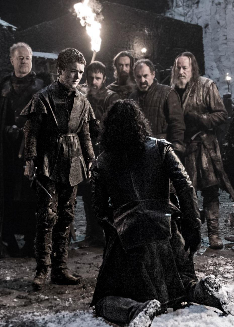 Brian Fortune on Game of Thrones season 6, the Night's Watch