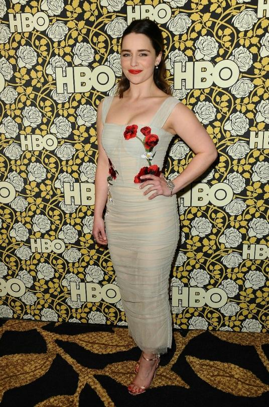 Emilia Clarke afterparty