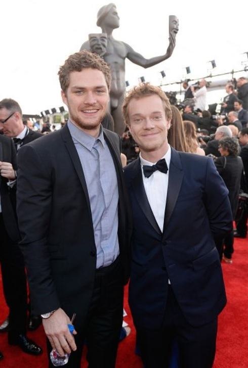 Finn and Alfie