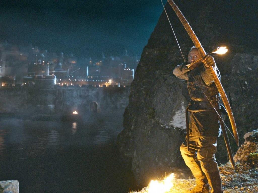 Bronn ignites the wildfire trap