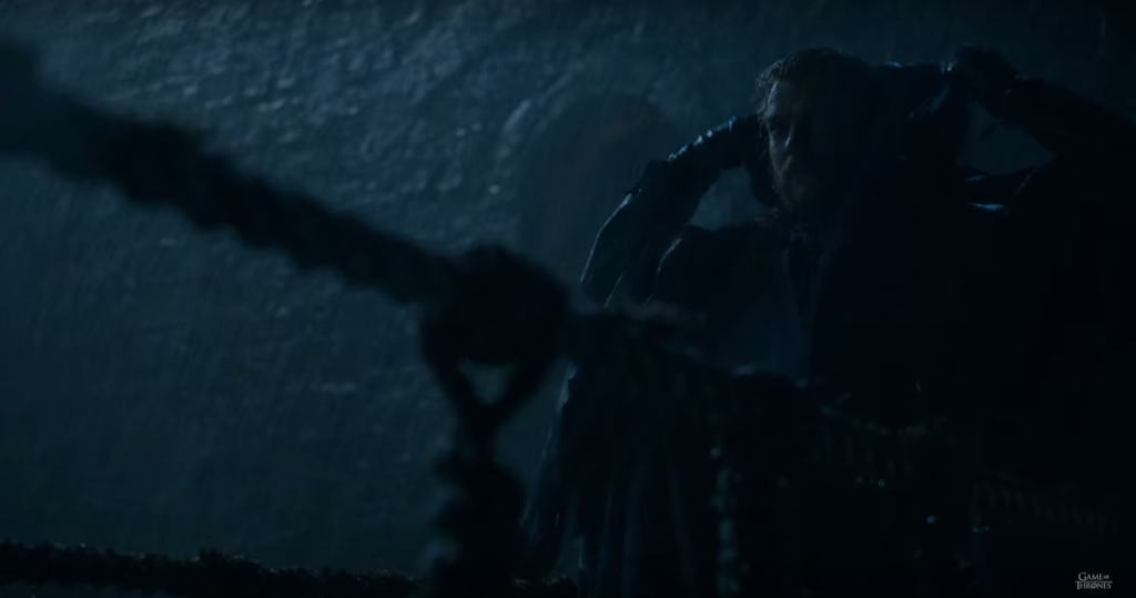 Euron Greyjoy and his rope bridge