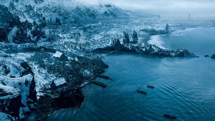 "The end of the Battle of Hardhome in ""Hardhome"""