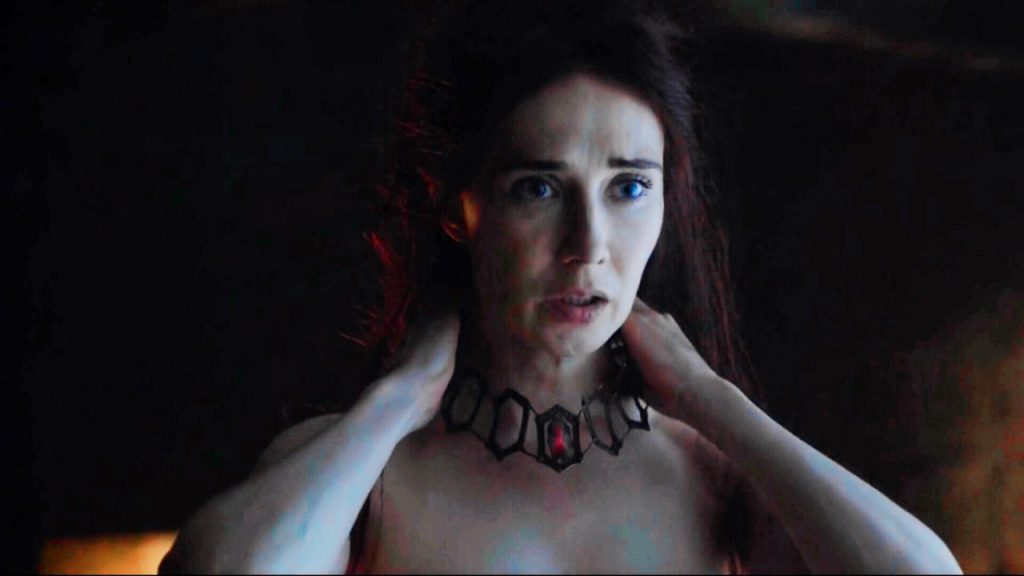 "Melisandre exposes herself in ""The Red Woman"""