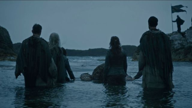 "Balon Greyjoy funeral in ""Home"""