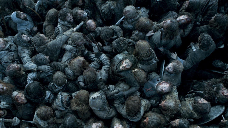 Jon Snow in Battle of the Bastards