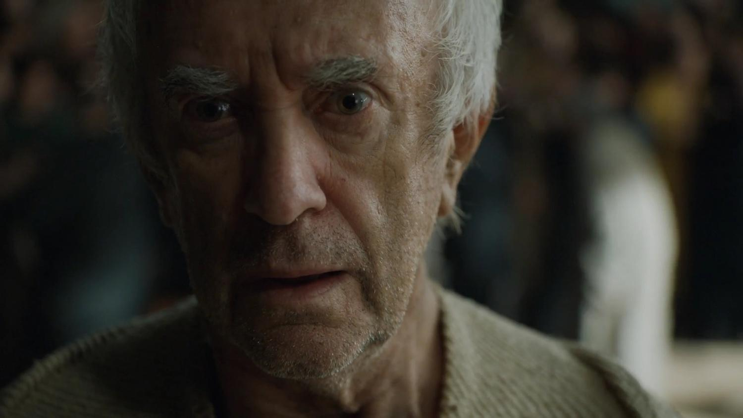 High Sparrow, in the Sept of Baelor about to be very blown up