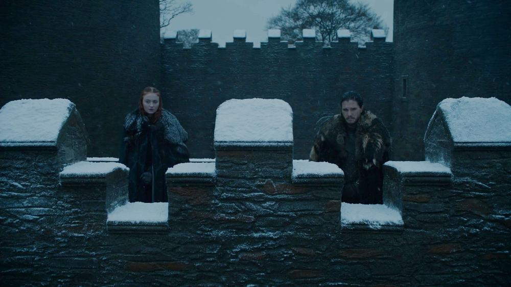 Sansa and Jon