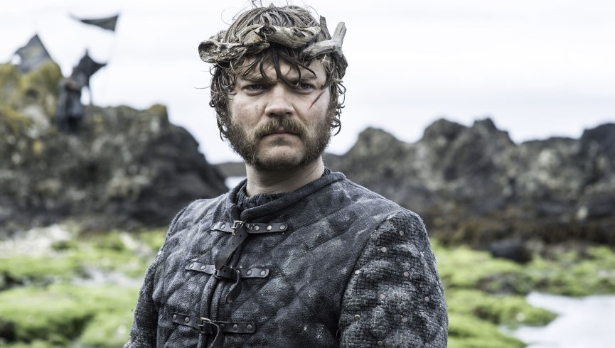 Pilou Asbaek as Euron Greyjoy in Game of Thrones season 6
