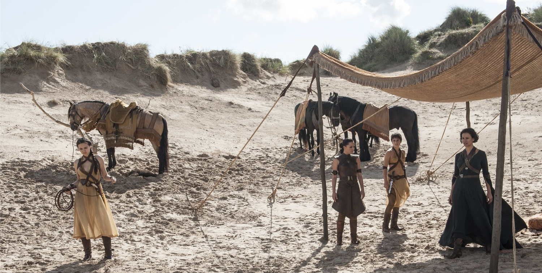 "Nymeria, Obara, Tyene and Ellaria in Season Five, ""The Sons of the Harpy"""