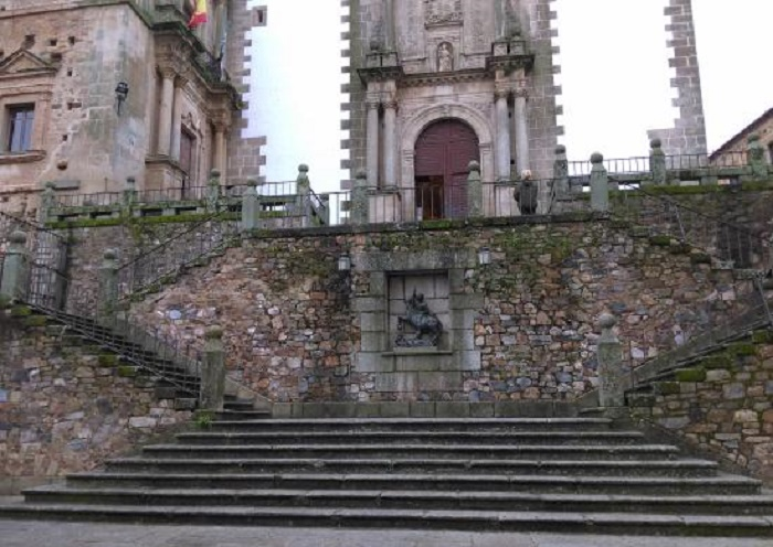 Stairs in San Jorge Plaza