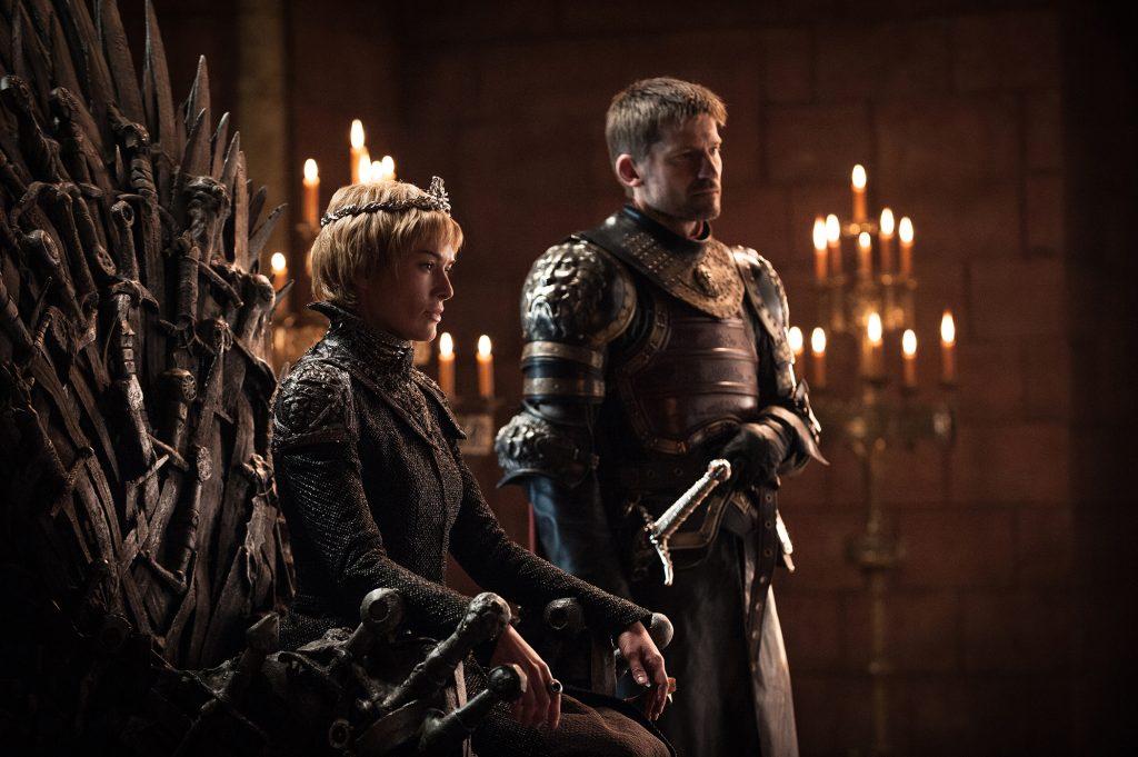 Cersei Lannister (Lena Headey) and Jaime Lannister (Nikolaj Coster-Waldau) in the Red Keep / Photo: Helen Sloan/HBO
