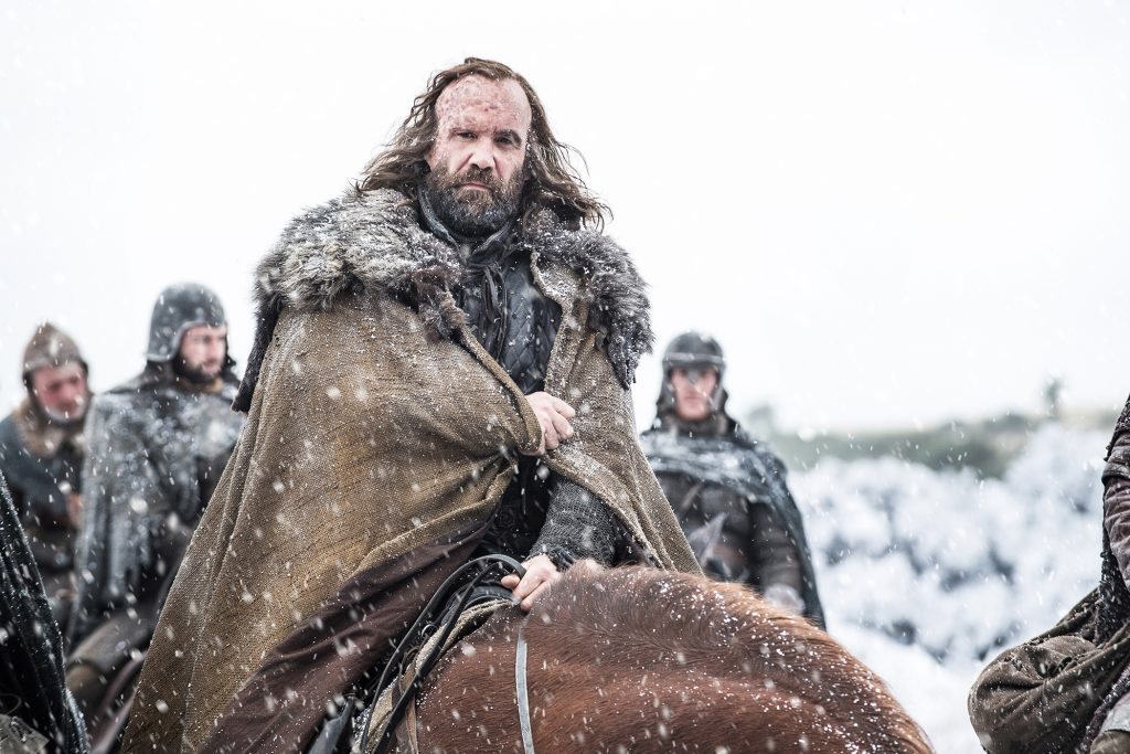 Sandor (Rory McCann) and the Brotherhood Without Banners / Photo: Helen Sloan/HBO