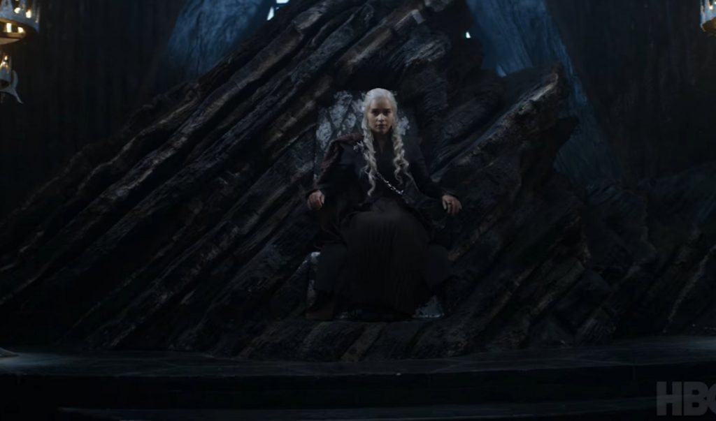 daenerys dragonstone throne room