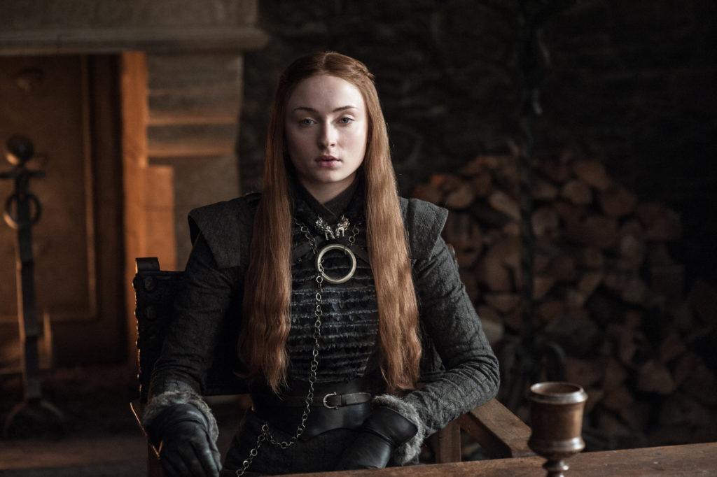 Sophie Turner as Sansa Stark in Season 7. Photo: Helen Sloan / HBO