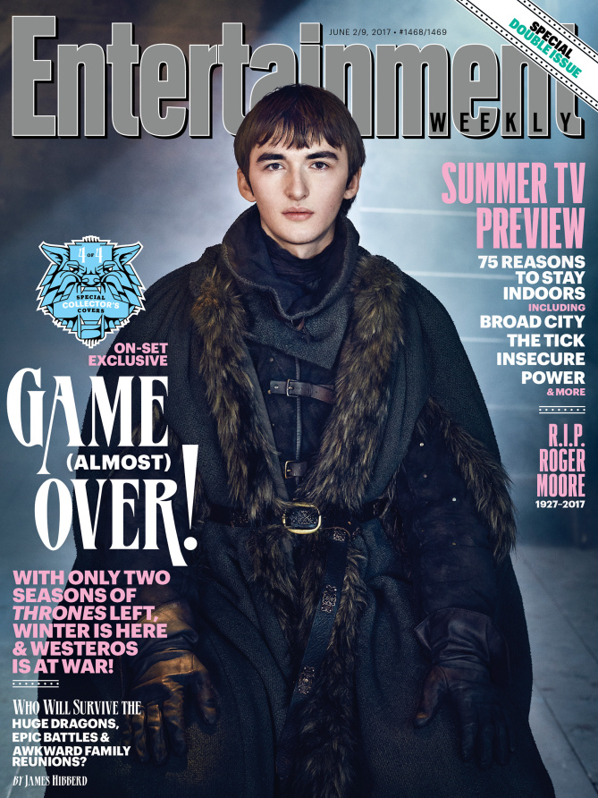Bran Stark Isaac Hempstead Wright EW cover