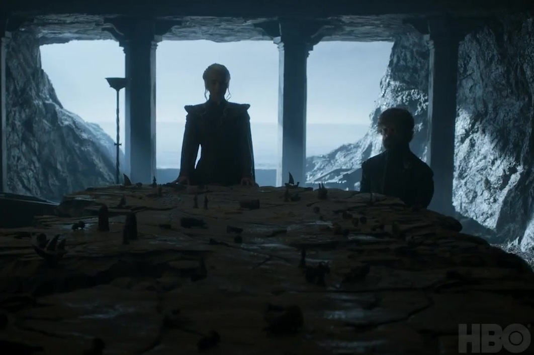 Dany Tyrion Painted Table