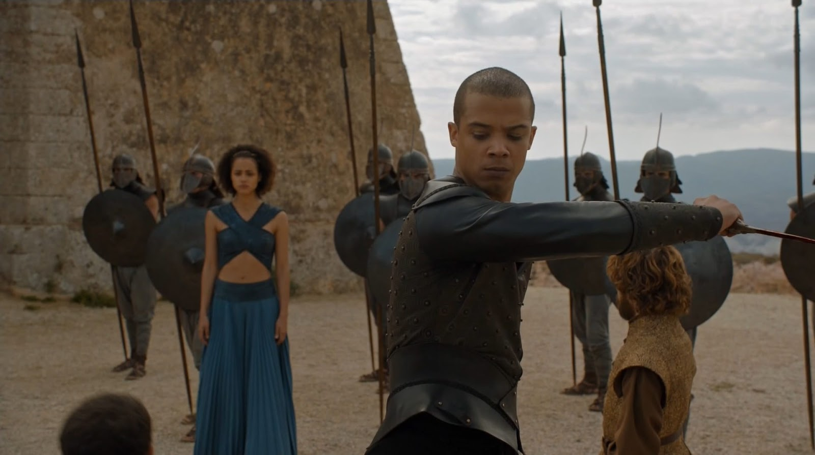 Grey Worm on Game of Thrones