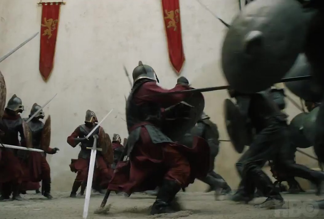 Unsullied vs Lannister