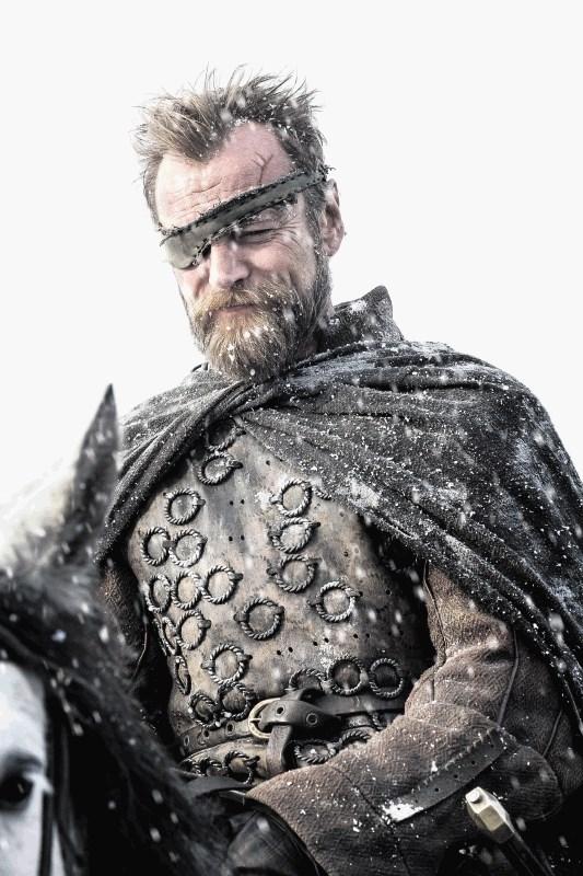 Richard Dormer as Beric Dondarrion. Photo: HBO / Helen Sloan
