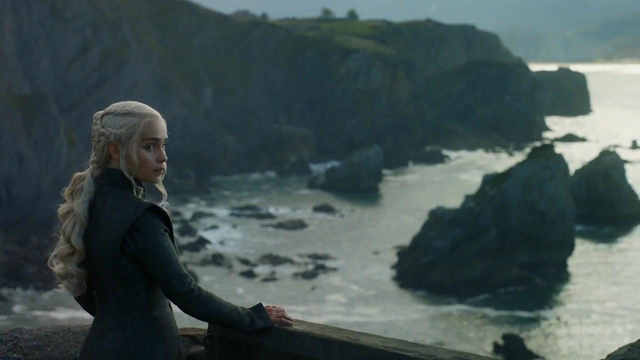 38 Daenerys Dragonstone coast