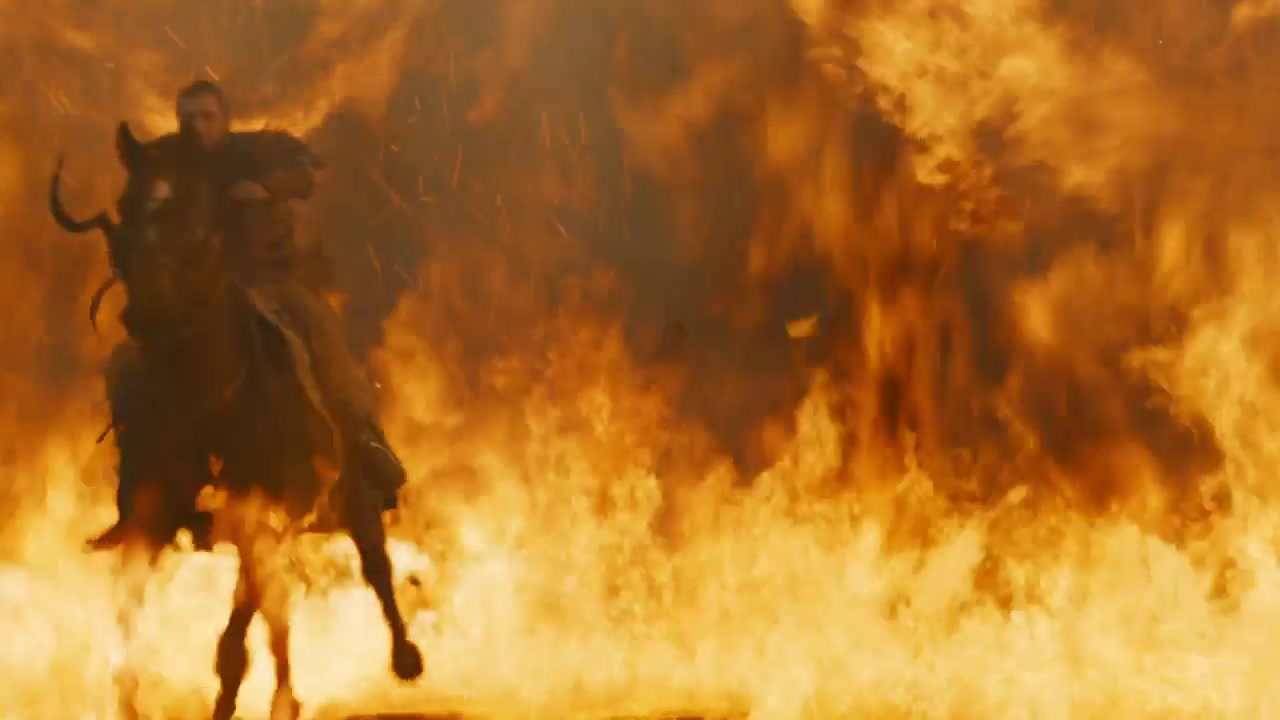 54 Dothraki fire fight