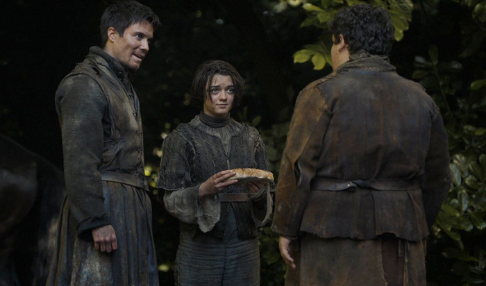 Arya Hot Pie and WolfBread