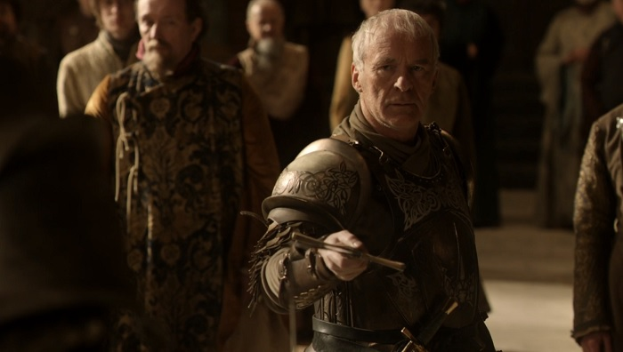 Barristan quits