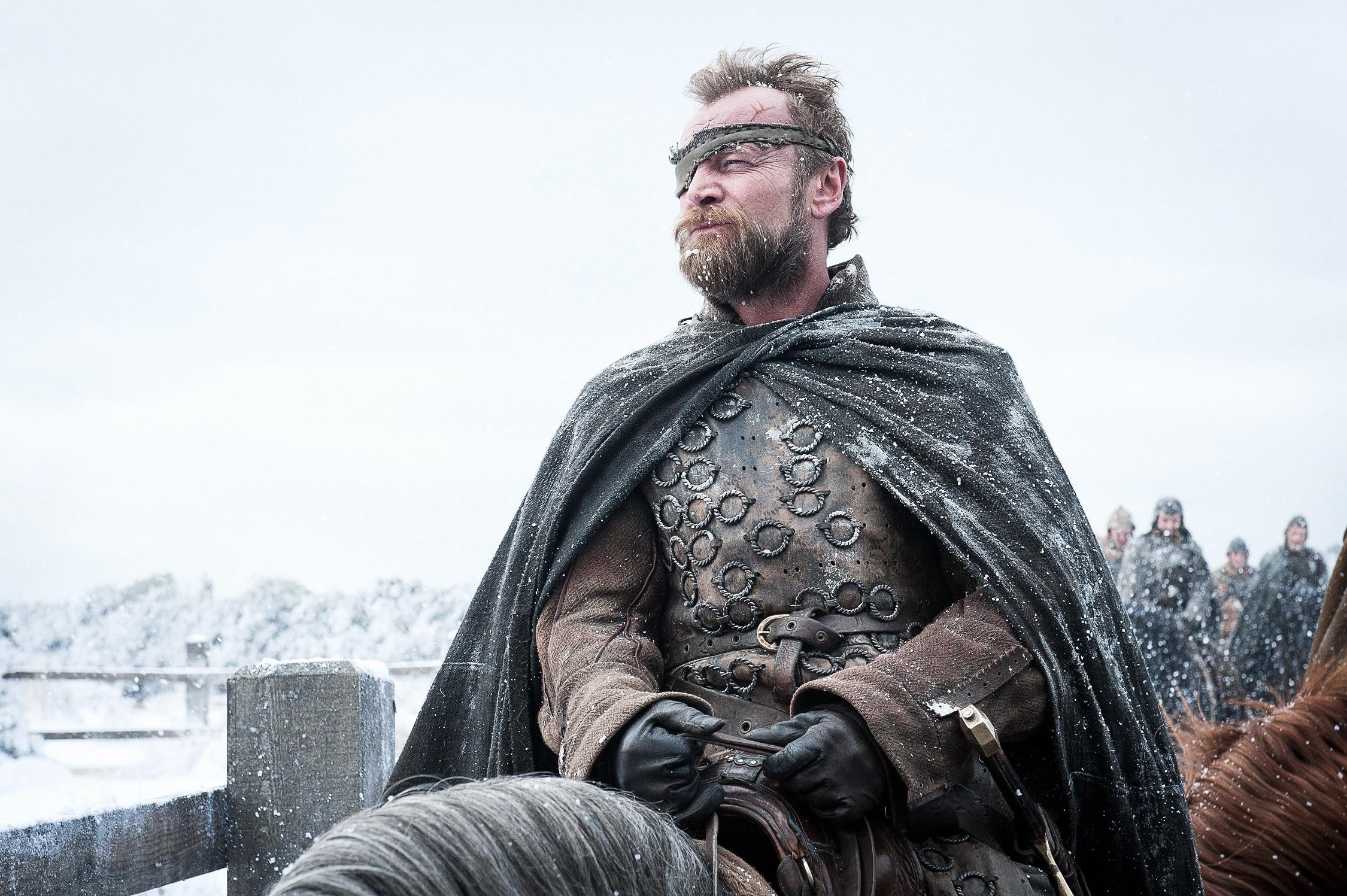 Richard Dormer as Beric Dondarrion, now in full. Photo: HBO