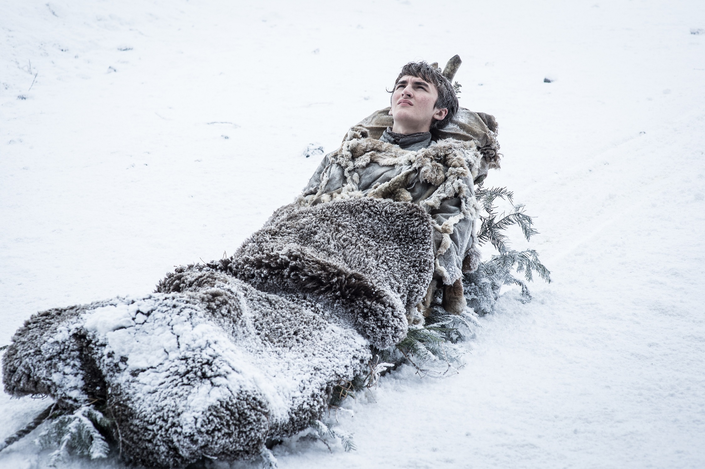Isaac H. Wright as Bran Stark. Photo: HBO